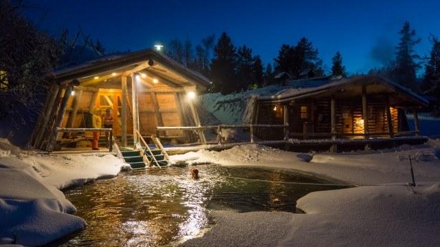 Foto El Fell Centre Igloos en el corazón de Laponia
