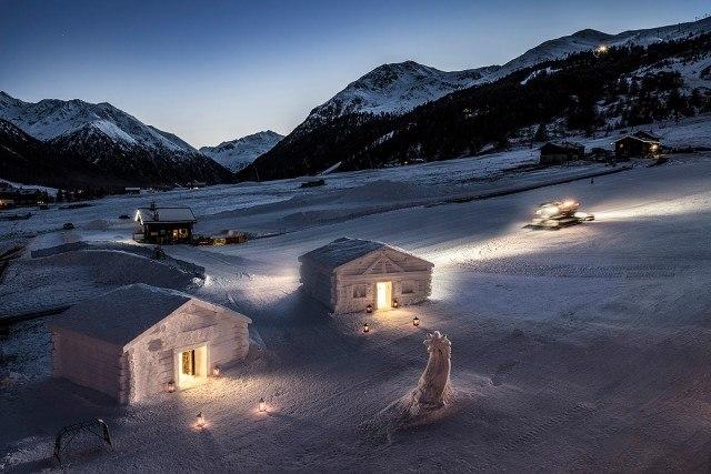 Foto El Hotel Lac Salin Spa  Mountain Resort en los Alpes italianos
