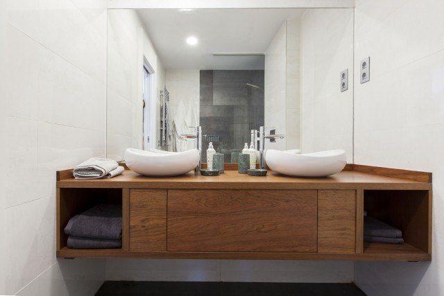 Foto Los materiales naturales como la madera triunfan en la decoración de interiores