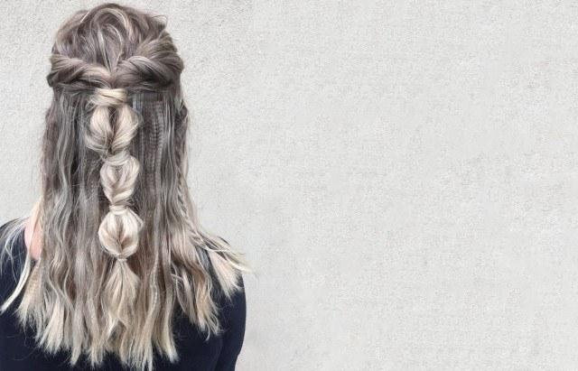 Foto Los peinados con trenzas son una apuesta segura en Navidad