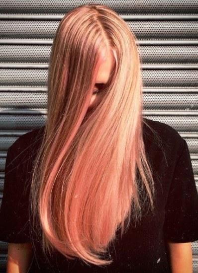 Foto El blorange, entre los colores de pelo más virales