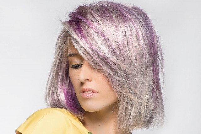 Foto Lleva a tu pelo el Ultra Violet, el color de 2018 según Pantone