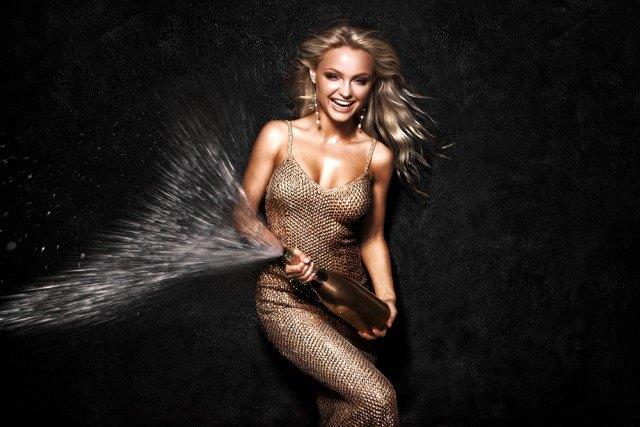 Foto 10 frases célebres con champagne