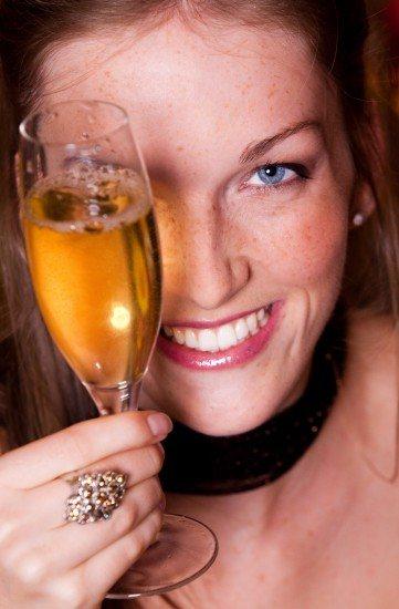Foto Las frases célebres más populares y originales con champagne