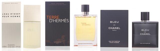 Foto Los perfumes para hombres más vendidos