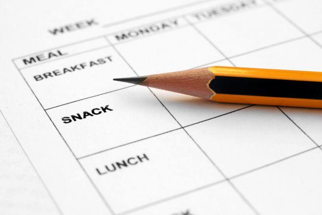 Foto Planifica un menú semanal para comer sano en la oficina