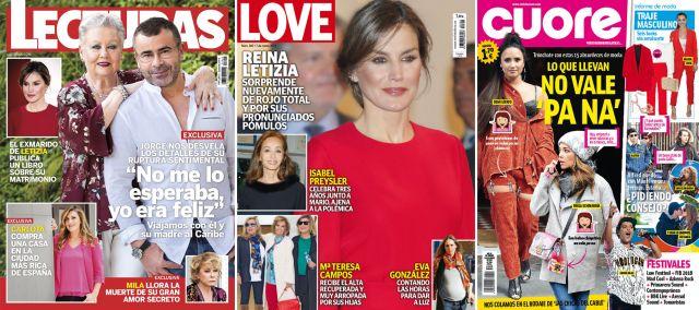 Foto Jorge Javier Vázquez, la reina Letizia y 15 absurdeces de moda de las famosas, portada de revistas