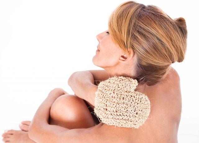 Foto Los beneficios del cepillado en seco de la piel