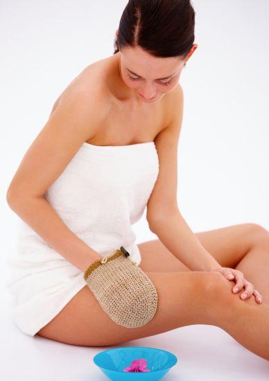 Foto Cómo hacer un cepillado en seco de la piel