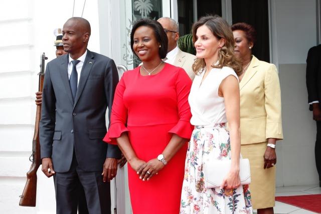 Foto La reina Letizia brilla en sus últimas horas en Haití