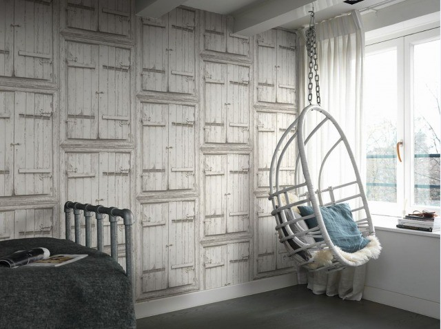 Foto El papel pintado, capaz de transformar por completo el estilo decorativo del hogar