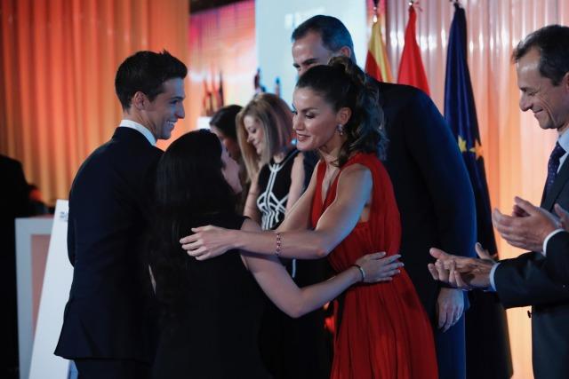 Foto La reina Letizia, con imponentes joyas en la entrega de los Premios Fundación Princesa de Girona 2018