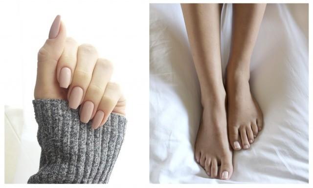 Foto Las ventajas de elegir la manicura y pedicura nude