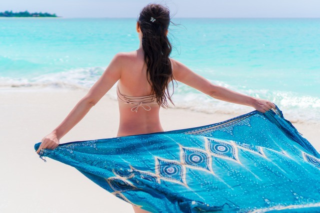 Foto Lleva siempre en la maleta de vacaciones un pañuelo grande o una pashmina