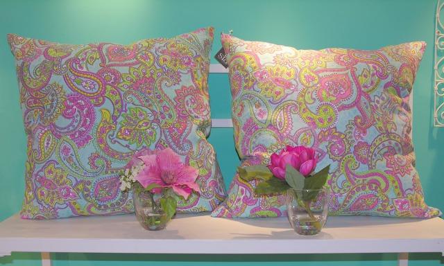 Foto Cojines con estampado floral