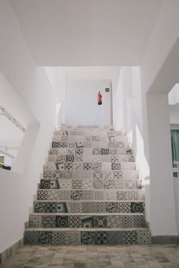 Foto Los azulejos de mosaico hidráulico, una de las claves de la decoración ibicenca