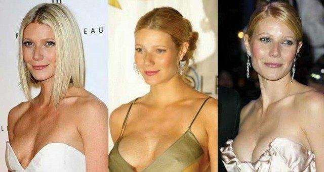 Foto Gwyneth Paltrow se sometió a un aumento de pecho para evitar la caída que sufrió en el postparto