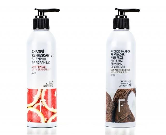 Foto Un champú y un acondicionador con ingredientes naturales, sin sulfatos ni siliconas, la clave para lucir un cabello sanoo