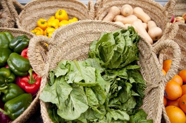 Foto Las verduras con hoja verde son una fuente de magnesio
