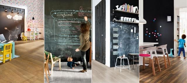 Foto Pintura magnética y de pizarra, la forma más práctica de decorar las paredes