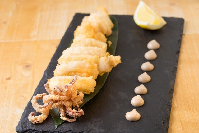 Foto Los calamares están especialmente ricos a partir de septiembre