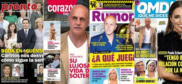 Foto Las portadas de las revistas a 17/09/2018
