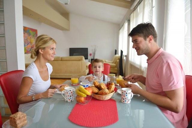 Foto Convierte el desayuno en un momento de unión familiar