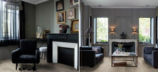 Foto Decoración en negro y colores oscuros, una apuesta arriesgada pero muy elegante