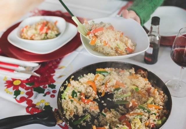 Foto Las ventajas de comer en plato pequeño