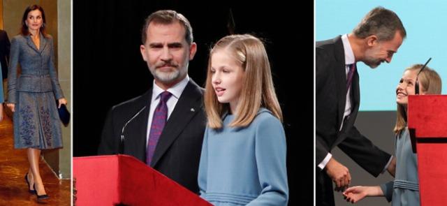Foto La princesa Leonor hace historia y doña Letizia cede todo el protagonismo a su hija