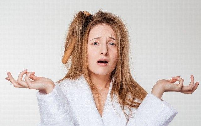 Foto El pelo quebradizo y sin brillo, dos problemas del cabello en invierno