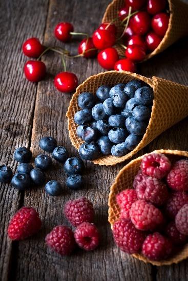 Foto Los frutos rojos entre los mejores antioxidantes del reino vegetal