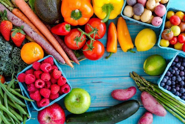 Foto El origen de alimentarse con vegetales