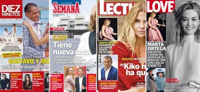 Foto Las portadas de las revistas del corazón a 21/11/2018