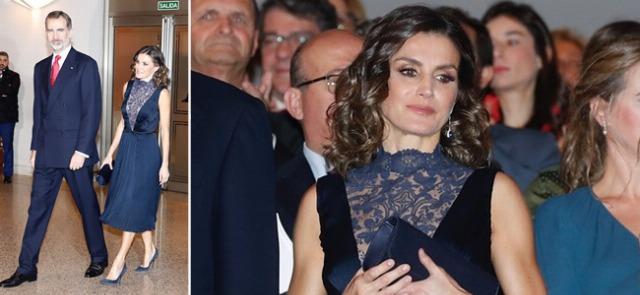 Foto La falsa sorpresa de la reina Letizia en el concierto de la Constitución
