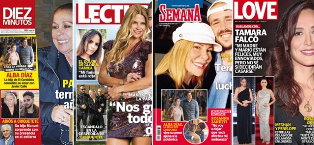 Foto Las portadas de las revistas del corazón a 19/12/2018