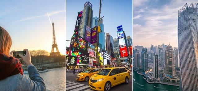 Foto París, Nueva York y Dubai, entre los mejores destinos cinematográficos