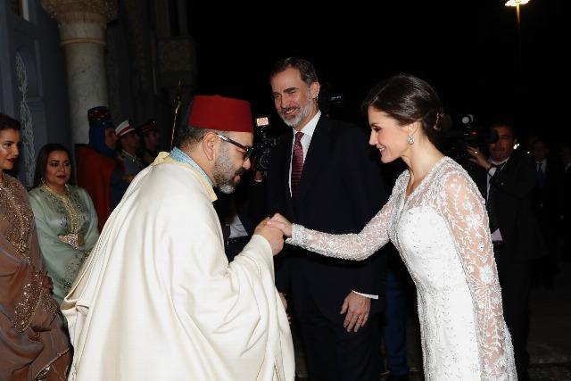 En MarruecosDel Un Primeros A Looks Letizia De Lady Vestido Recato yYb7fg6v
