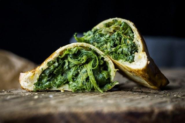 Foto Las espinacas son ideales como relleno de empanadas