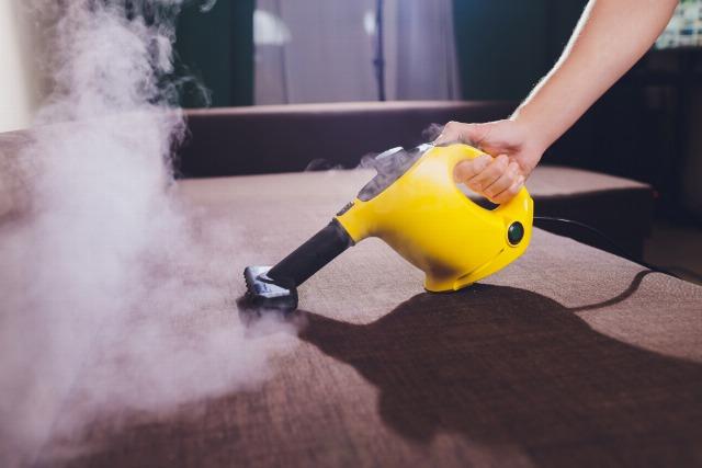 Foto La limpieza a vapor desinfecta y mata los ácaros sin producir humedad