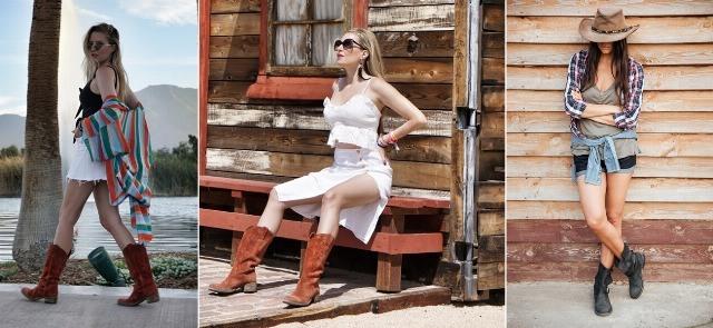 Foto Cómo combinar las botas cowboy