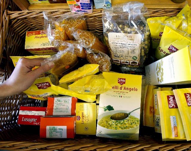 Foto Alimentos sin gluten aptos para celiacos