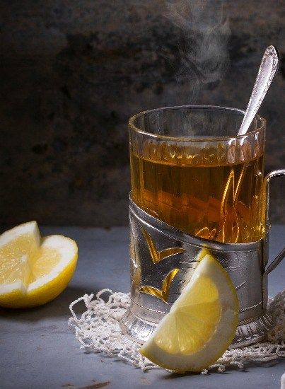 Foto Té verde con limón, un poderoso depurativo y quemagrasa