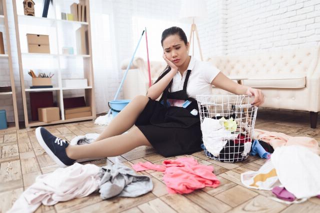 Foto Las tareas del hogar durante el confinamiento y el desorden, foco de conflictos