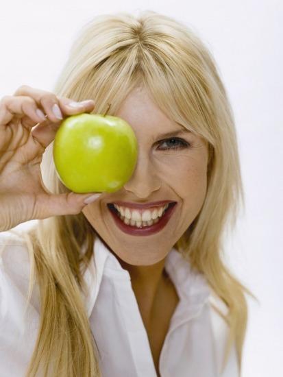 Adelgaza con la cáscara de manzana