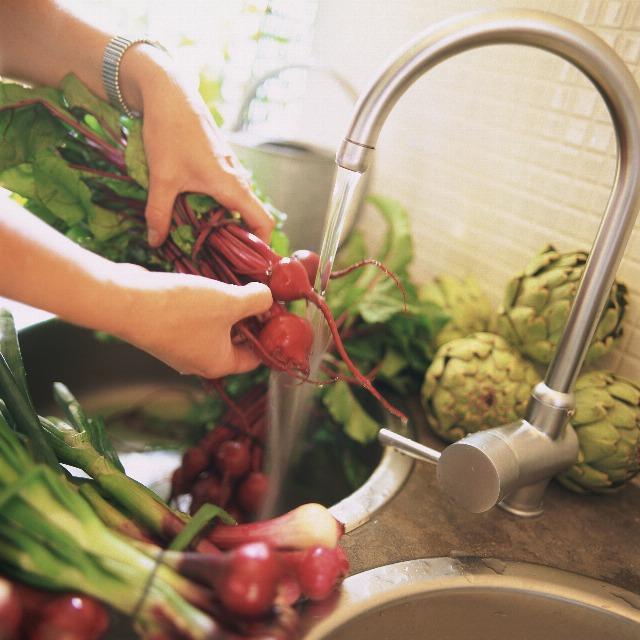 Foto Cómo limpiar las verduras y hortalizas