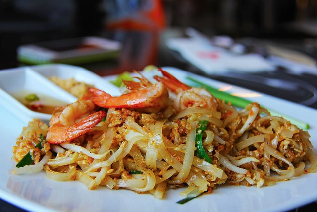 Foto Ensalada tailandesa de gambas