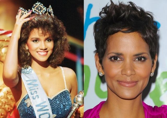 Foto El antes y después de Halle Berry