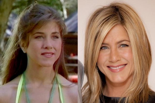 Foto El antes y después de Jennifer Aniston