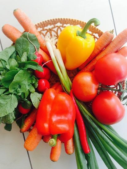 Foto Verduras y hortalizadas, indispensables en la dieta de la embarazada